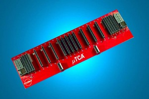 Backplane and Development Chassis help build µTCA designs.
