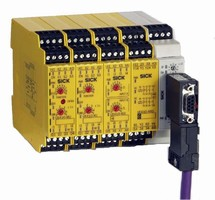 Safety Controller offers logic functions without software.