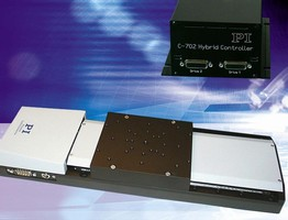 Linear Stage provides 100 mm travel and 4 nm resolution.