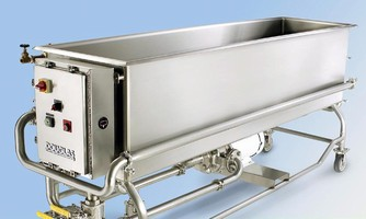 Parts Washing Tank meets demands of food processors.