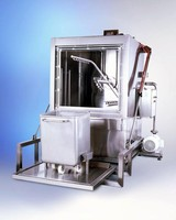 Washing System suits large volume containers.
