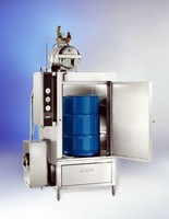 Barrel and Drum Washers feature compact form factor.