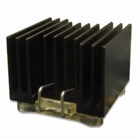 Heat Sinks cool 17 x 17 mm BGA packages.