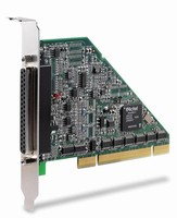 PCI DAQ Card offers up to 250 kS/s sampling rate.