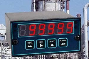 Digital Panel Meter offers 0.01% accuracy at 60 readings/sec.