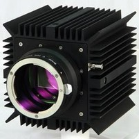 Cameras feature thermoelectrically cooled image sensor.