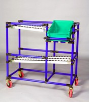 Compartmented AGV Delivers Sequenced Assembly Productivity