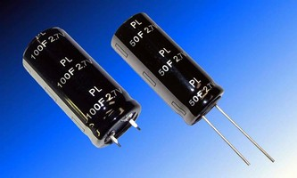 Ultracapacitors come in 0.5-300 F capacitance values.