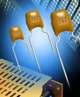Ceramic Capacitors come in radial and axial leaded versions.