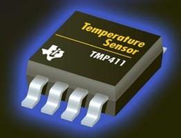 Temperature Sensor aids thermal diode monitoring.