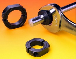Shaft Collars feature machined wrench flats.