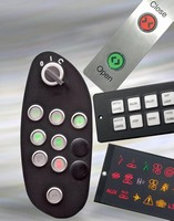 Control Panels suit transportation and specialist vehicles.