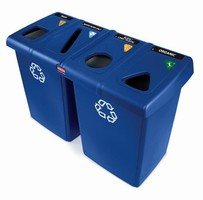 Recycling Station can separate 4 waste streams.