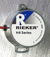 Inclinometer suits construction and off-road lift equipment.