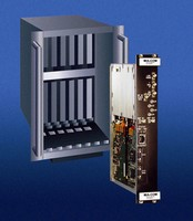 Microwave VME Tuner operates from 0.5 -18 GHz.