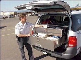 Lock Up Box secures firearms in SUVs.
