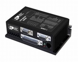 Stepper Drive delivers up to 5.0 A with 24-48 Vdc input.