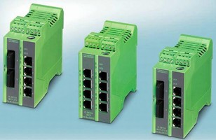 Ethernet Switches suit automation environments.
