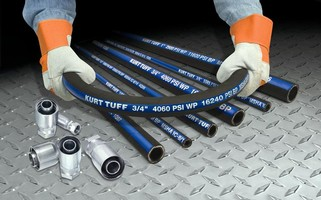 High Pressure Hose handles applications up to 6,500 psi.