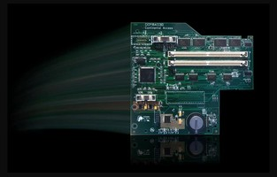 Accelerator Board includes built-in TCP/IP communication.