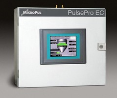 Dust Collector Controller monitors multiple baghouses.