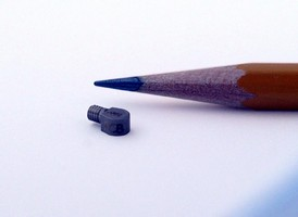 Miniature Accelerometer performs shock and vibration studies.