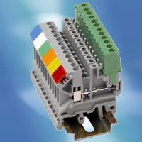 Colored Labels are designed for terminal blocks.