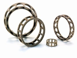 Rolling Bearings feature polymer cages.