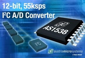 A/D Converter features I²C compatible interface.