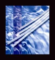 Fluoroplastic Paratubing handles multiple fluid lines.