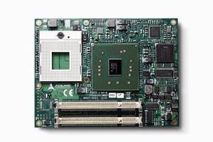 Computer-on-Module supports Intel® Pentium® M processors.