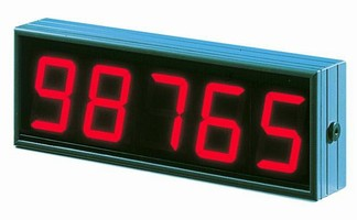 Large Digit Displays can be viewed from up to 160 ft away.