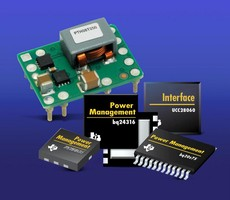 Mouser Electronics Now Stocking New TI Power Management Products