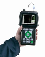 Handheld Ultrasonic Flaw Detector weighs 2.12 lb.