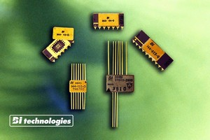 Thin Film Resistor Networks are hermetically sealed.