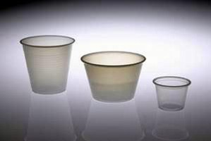 Dosage Cups are available in 3 sizes.