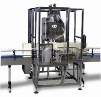 Single Head Capper is designed for large containers.