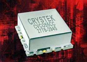 VCO comes in 0.5 x 0.5 in. SMD package.