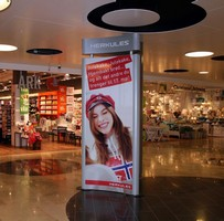 Vista System's Modular Curved Frame Technology (MCFT) was Chosen for a Shopping Mall in Norway