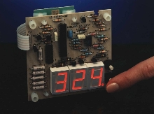 Temperature Controller offers push-button operation.