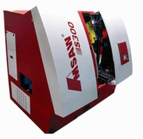 Sawing System cuts ferrous and non-ferrous materials.