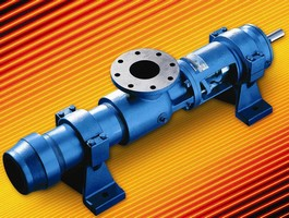 Progressive Cavity Pump suits wide variety of applications.