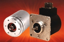 Absolute Encoders can be flange or servo mounted.