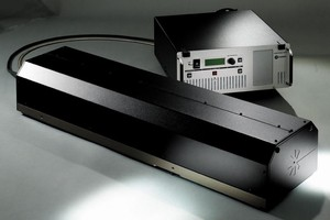 UV Laser delivers 8 W of quasi-CW output at 355 nm.