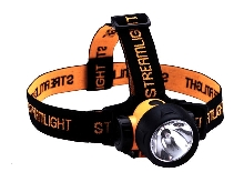 LED Headlamp provides 3-way lighting.