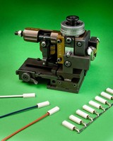 Wire Terminal Applicator offers single stroke operation.