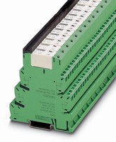 Terminal Block Relays feature 14 mm wide contacts.