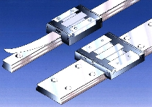 Cover Strips protect miniature ball rail systems.