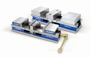 Workholding Vises have 4 in. capacity.