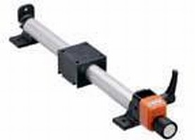 Linear Guide System is suited for format adjustments.